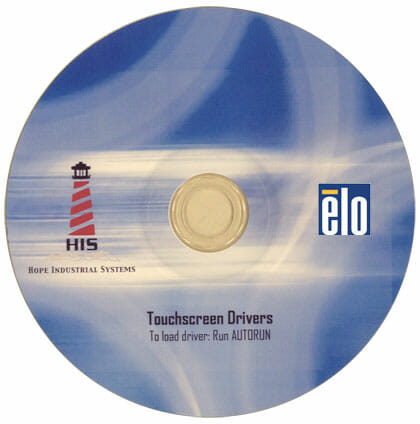 Elo Touch Screen Driver CD