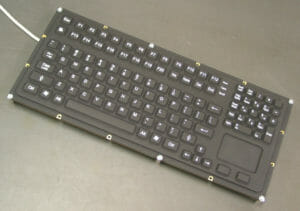 New Full-Travel Keyboard with Touchpad