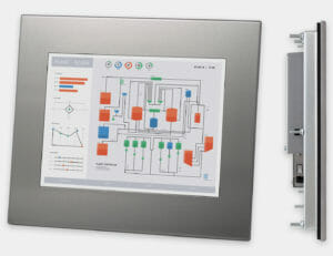 New HIS-ML12 Industrial Panel Mount Monitor