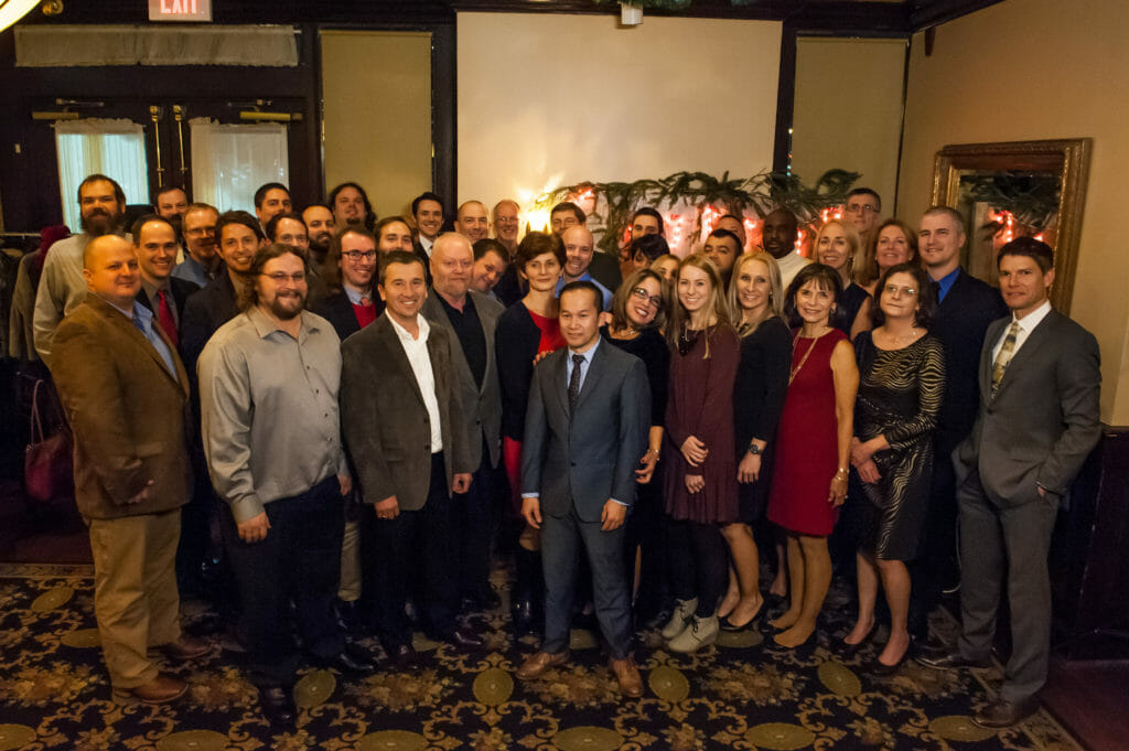 Hope Industrial Employees at 2016 Christmas party