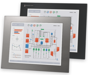 """17"""" Panel Mount Industrial Monitors and IP65/IP66 Rugged Touch Screens"""