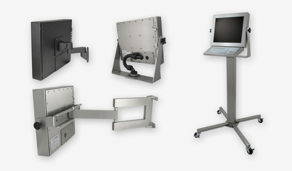 Mounting Options for Universal Mount Monitors