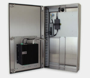 Industrial Enclosure for Commercial / Industrial PCs with Dell 5000 mounted