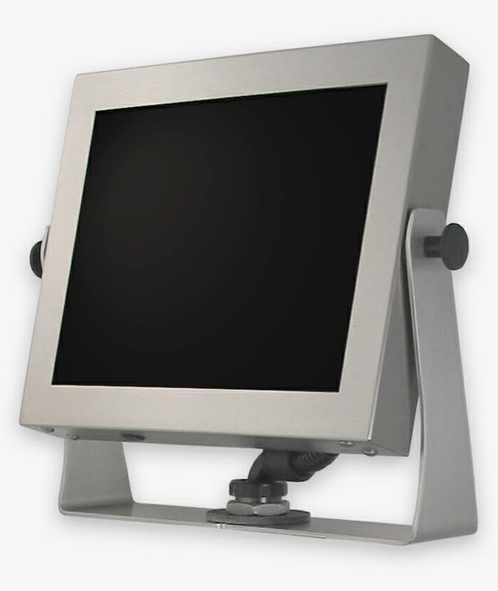 Universal Mount Industrial Monitors and Rugged Touch Screens, fully enclosed, IP65/IP66, story