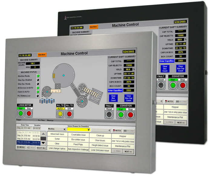 """19"""" Universal Mount Industrial Monitor and Touch Screen"""