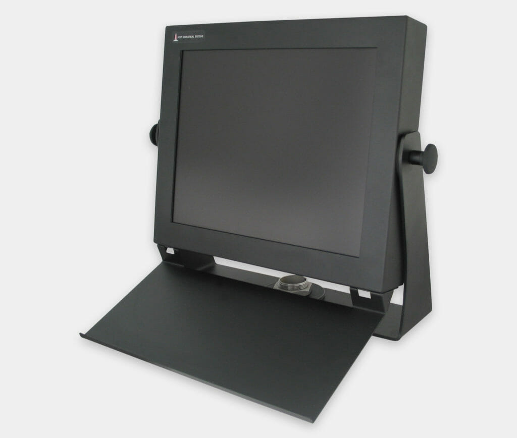 Industrial Keyboard Mounting Tray for attachment to Universal Mount Monitors