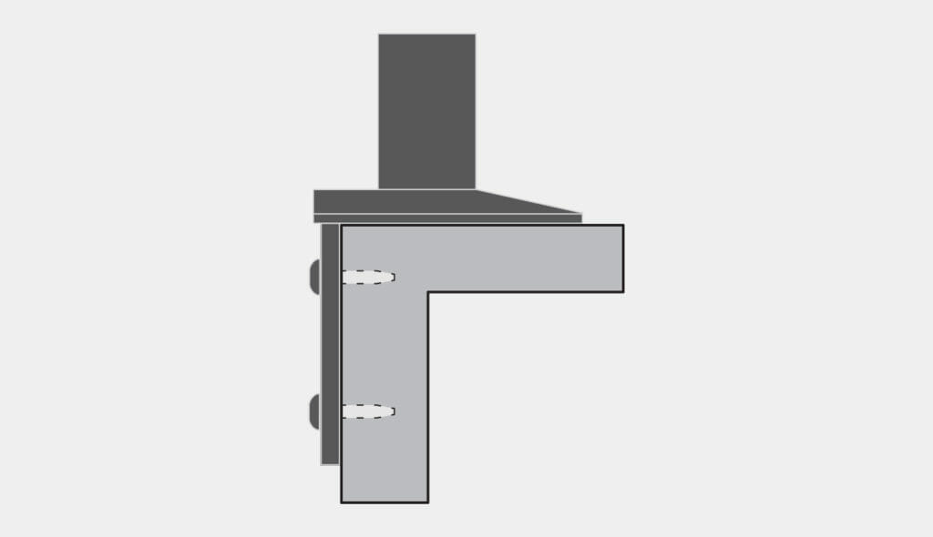 VESA Radial Arm Side Mount Option